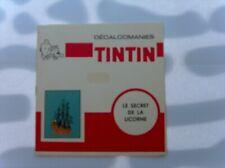HERGE TINTIN LIVRET COMPLET DECALCOMANIES DAR LICORNE + RACKHAM TBE
