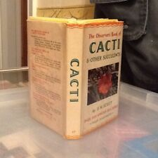 Observers Book Of Cacti 1965