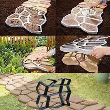 Stampo Per Cemento Pietra Pavimenti Giardino Pavimentazione FAI DA TE 35 X35 cm
