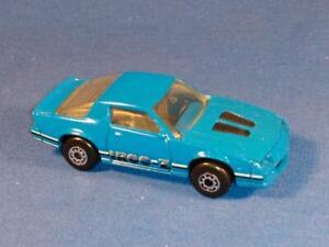 1985 Matchbox #5, Chevrolet Camaro IROC Z-28, Blue, NICE CONDITION!