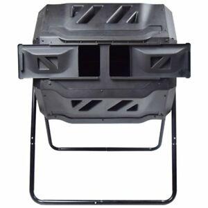 EJWOX 3001 43 Gallon Composing Tumbler - Black NEW