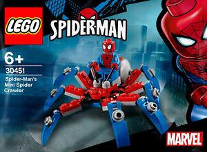 LEGO Marvel Spider-Man #30451 - Spider-Man's Mini Spider Crawler - 100% NEW