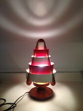 Vintage Mid Century Atomic Table Lamp, Atomic With Nautical Colours. Hand Made