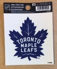 "Toronto Maple Leafs 3"" x 4"" Small Static Cling - Truck Car Window Decal NEW NHL"