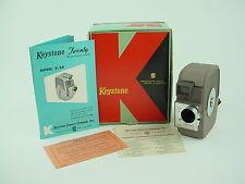 Keystone Twenty Model K-20 Vintage 8mm Rollfilm Camera - Mint w/ Box