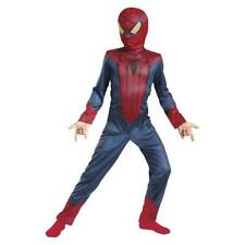 NEW AMAZING SPIDERMAN MOVIE SUPER HERO Marvel HALLOWEEN COSTUME boy size S 4-6