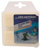 Holmenkol FLUORMIX Weltcup Ski wax snowboard racing (70 g) Made in Germany