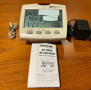 """Bell Equipment Sonecor Caller ID HUGE 4 1/2"""" Diag. Display, Instructions, Wires"""