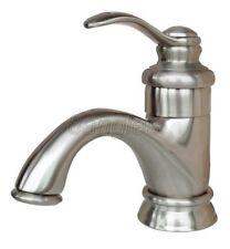 Brushed Nickel Single Handle Bathroom Basin Sink Faucet Mixer Water Tap Ybn008
