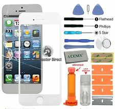 iPhone 5s 5c 5 Front Glass Screen Replacement Repair Kit White+LOCA glue + kit