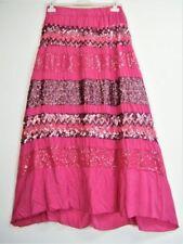 Gonne e minigonne da donna rosa in cotone party