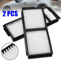 2pc Car Cabin Air Filter For Mazda 3 2004-2009 5 2006-2010 BP4K6-1J-6X9A Replace
