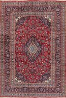 Red Traditional Floral Medallion Area Rug Wool Handmade Living Room Carpet 6x10