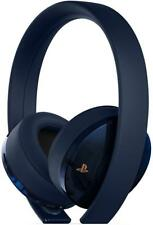 PlayStation Gold Wireless Headset 500 Million Limited Edition Sony PlayStation 4