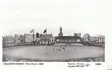 Surrey Sports Postcard - Cricket - The Oval Cricket Ground c1850 - 2257