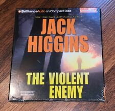 NEW The Violent Enemy by Jack Higgins (English) Audiobook Cd FREE SHIPPING!