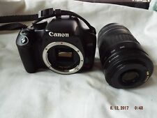 CANON EOS REBEL XSi WITH CANON ZOOM LENS EF 90-300mm 1:4.5-5.6 LENS