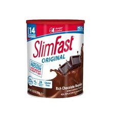 Slim Fast Weight Loss Shake Powder Original Mix Rich Chocolate 3 Pack