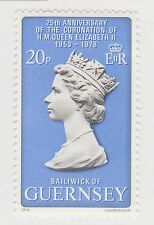 (LK252) 1978 Guernsey 20P 25th anniversary of coronation (A)