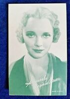 VIRGINIA BRUCE Arcade Card 1940's Exhibit ARCADE CARD