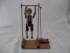 2311* jouet en tole acrobate machine vapeur ancien