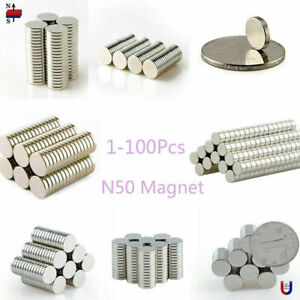 N50 Super Strong Rare Earth Magnet Neodymium Disc Round Cylinder Magnet