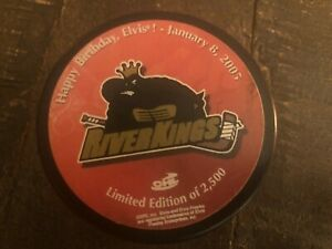 Elvis Presley Authentic Commemorative Hockey Puck Birthday Celebration 2005