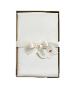 Natures Purest Fitted Cream 100% Organic Grown Cotton Cot Bed Sheet (0227)