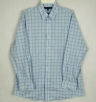 Tommy Hilfiger Men's Shirt Long Sleeve Button Front Size L 17 32-33