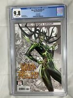 War Of The Realms #1 CGC 9.8 Marvel Comics J. Scott Campbell Hela Variant 2019