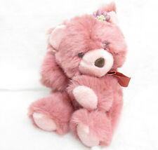 VTG 1993 THE SUMMIT COLLECTION PINK MAUVE TEDDY BEAR STUFFED PLUSH
