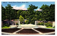 Daniel Boone Theatre North Carolina Vintage Postcard Amphitheatre Horn in West