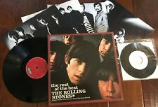Rolling Stones Box Set The Rest of the Best Decca German 4 Record 45 Cocksucker