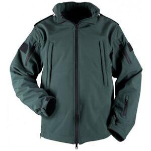 EMS Medic Green Soft Shell Jacket - Paramedic/Ambulance