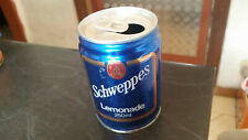 vintage schweppes 250ml lemonade  soft drink tin can