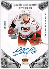 2010-11 CROWN ROYALE ROOKIE SILHOUETTES AUTOGRAPH PRIME JERSEY JEFF SKINNER /99