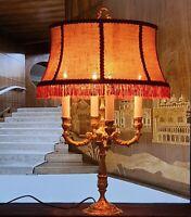 Lampe Bouillote 4 Lumières (Bronze ou Laiton)