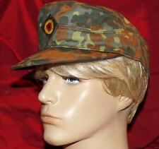 German Bundeswehr Surplus Item / Military Men Field Cap - Fleck Camo Tag Size 62