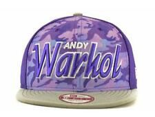 Andy Warhol New Era Purple Camo 9Fifty Snapback Cap Hat size M/L