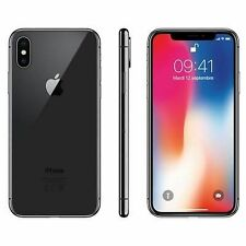Apple iPhone X - 64GB - Space Gray, Black (Unlocked) A1901 (GSM)