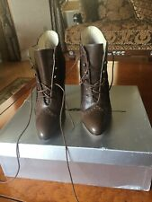 BRIAN ATWOOD Lace-up ANKLE BOOTS SZ 35,5 NIB