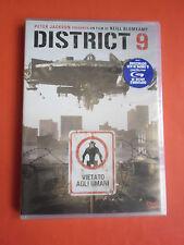 DISTRICT 9- vietato ai non umani- DVD  film- da collezione- sigillato