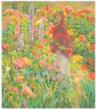 Private Garden by DON HATFIELD #321/350 Sold Out Edition COA No Reserve