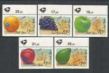 RSA 1994 Fruits/Plants/Tractor/Ship/Farming/Commerce/Food 5v set (n23794)