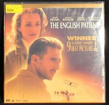 THE ENGLISH PATIENT 2 laser discs - Academy Award Best Picture WIDE SCREEN