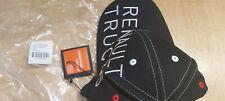 BNWT RENAULT OFFICIAL MERCHANDISE BLACK RENAULT TRUCKS COLLECTION CAP COTTON