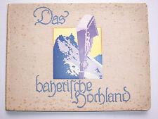 El bávaro tierras altas para 1930 Dreyer imagen banda!