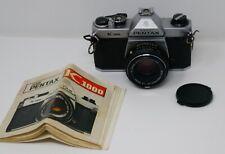 Pentax Asahi K1000 35mm SLR Film Camera w/SMC M 50mm Lens