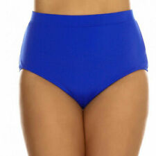 Elomi Swim Essentials Classic Bikini Brief Pant Royal Blue 7600 UK 26 - BNWT