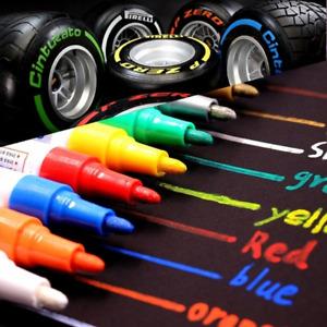 Waterproof Permanent Art Paint Marker Pen for Car Tyre Tire Tread Rubber Metal
